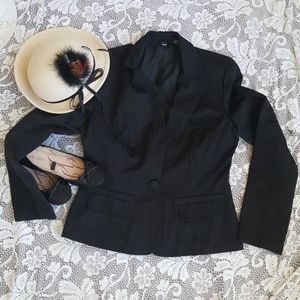 Mossimo Tapestry Black jacket